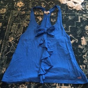 Hollister royal blue tank
